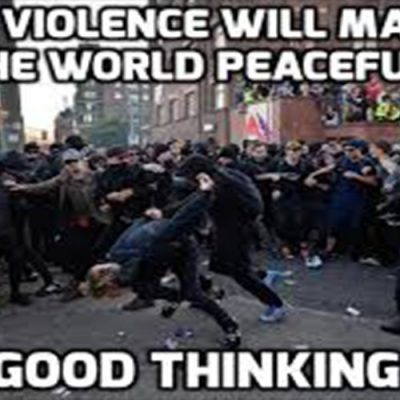 Woke violence is One-percent violence to transform society