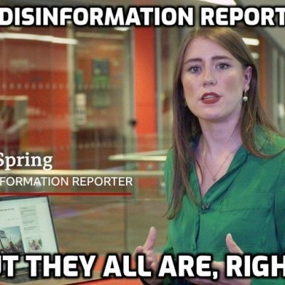 The child (apologies children) that is Marianna Spring - BBC 'disinformation specialist' (how appropriate) - on 35,000 protesters and doctors at the Trafalgar Square event
