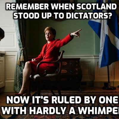 Nicola Sturgeon is turning into a demagogue - how long are you going to stand for it Scotland?
