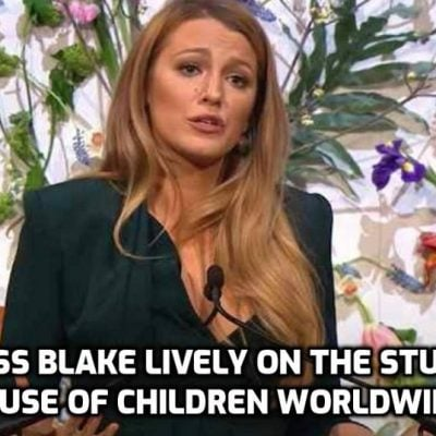 Top Hollywood Actress Exposes shocking scale of global child abuse