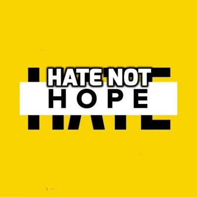 Establishment-arse-licking Hate-not-Hope and 'the state of hate 2021'. Did you get that - HATE? Did we mention HATE? We can't stop talking about HATE. We are obsessed with HATE. That's why we're called HATE-not-Hope. How about some LOVE, chaps? What's that? Oh, now I get why you are so full of HATE