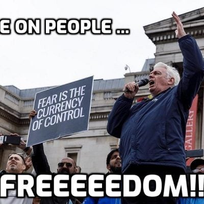 David Icke Gives A Speech To The Vancouver Mega Freedom Rally