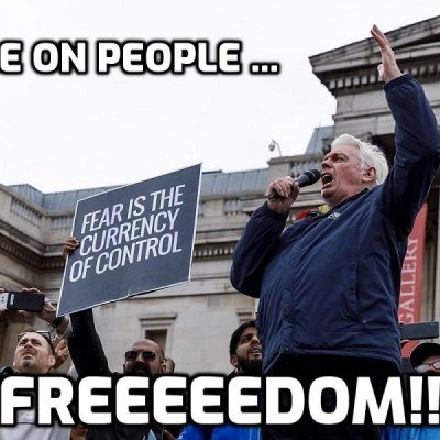 Great version of David Icke speech to 40,000-plus people in Trafalgar Square (Please share)