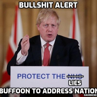 Johnson to impose more tyranny in national broadcast tonight. He's one not-very-bright bloke telling tens of millions what to do - and the tens of millions just do it??