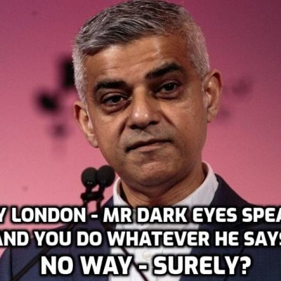 Sadiq Wants London Lockdown