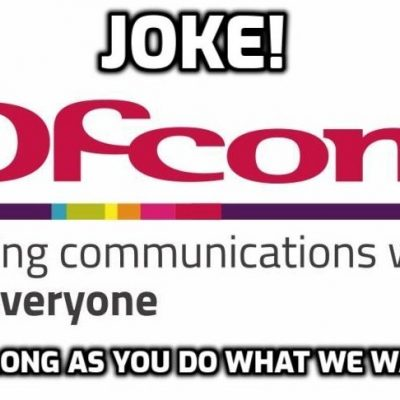 More systematic bias and breathtaking hypocrisy from government censor Ofcom as it dismisses 3,000 complaints about BGT comedian Nabil Abdulrashid. I don't care what he said - free speech is free speech - but he was spared the wrath of the Ofcom tyranny because he was speaking the 'right' kind of free speech and the only kind it believes in