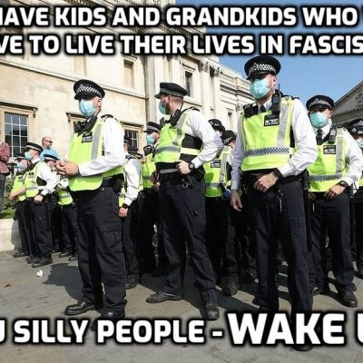 Riot Police Charge London Anti Lockdown Protest