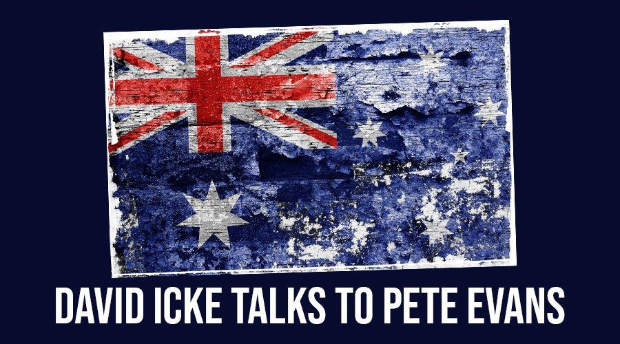 David Icke Talks To Pete Evans - Full Interview