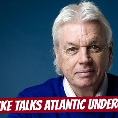 David Icke Talks To The Atlantic Underground Podcast