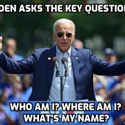 Joe Biden disappears in wake of Ukraine corruption revelations as Deep State 'intelligence' (yeah, right) officials claim the New York Post exposure of Biden's activities is a 'Russian plot'. Liars, but then that's what they do for a living