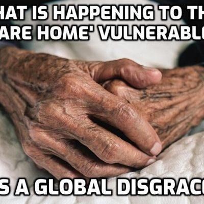 Woman left heartbroken after care home staff said waving to her father, 80, through his window was 'illegal' - as she claims staff have shut the curtains to stop her from seeing him
