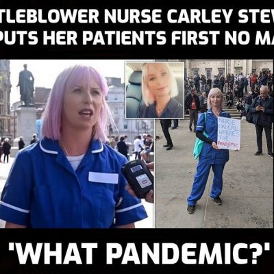 Care home nurse Carley Stewart talks with David Icke about her experience of a fake 'pandemic' and the shocking consequences for the elderly and vulnerable of lockdown (PLEASE SHARE)