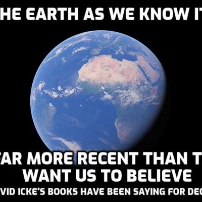 More confirmation of David Icke's books - the history and timescale of the Earth as we know it are very different to the official story and 'billions of years of evolution' is a myth. It all happened MUCH faster and more recently