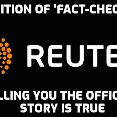 So funny - Reuters 'fact-checks' David Icke video exposing dangers of oxygen deprivation of masks and presents no evidence to counter the facts only quotes from official authorities. JOKE