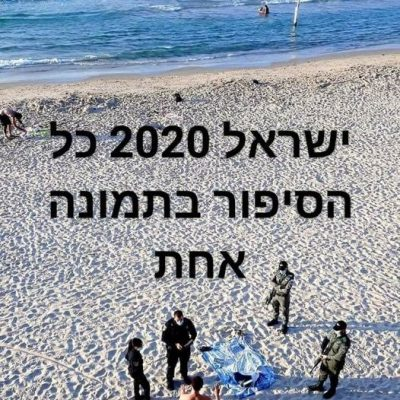 Israel (and the world) in 2020 captured in one picture