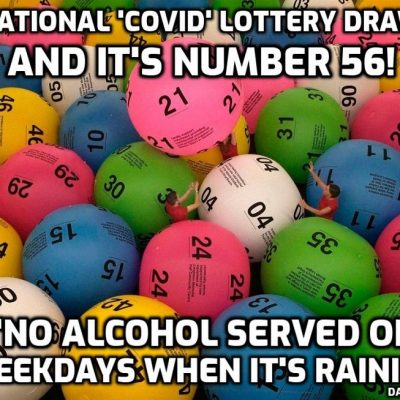The National 'Covid' Lottery Draw - This Week's Results