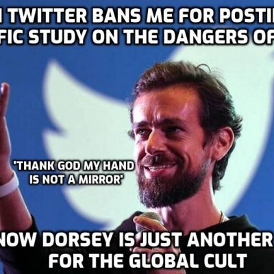 David Icke Twitter account banned for 7 days for sharing a scientific study by 3 doctors on the real dangers of masks