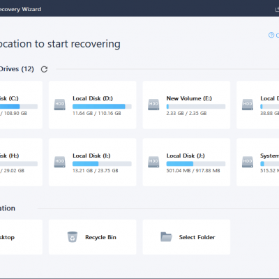 Recover Lost/Deleted Videos or Other Data with Ease