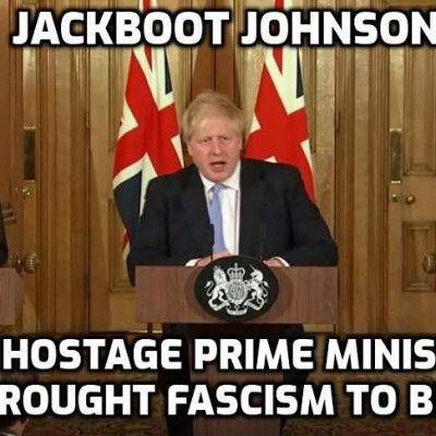Jackboot Johnson hosts Bill Gates & pharma bigwigs to plot Covid-19 vaccine deployment as UK military prepares for 'biggest effort since WWII' - then the military fought fascism, now they are enforcing it