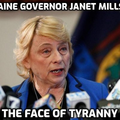 Fascist Maine governor Janet Mills and her vicious campaign to destroy the restaurant owner who refused to bow to her fascism