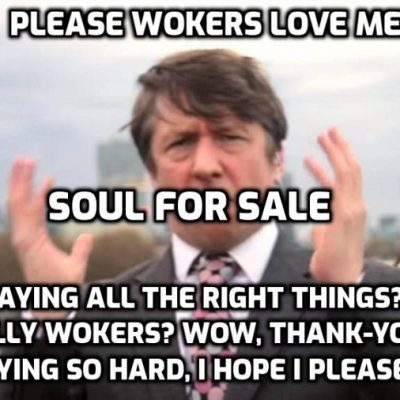 Trump is a loser! No, 'Jonathan Pie' you are. But as always - great virtue signalling. Well done, you, the BBC will love it. Crook 'wins' the presidency, but never mind the detail. You want Wokers to love you, right? Oh, they love you