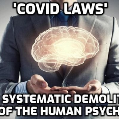 Invasion of the Body Snatchers: Psychological Warfare Disguised as a Pandemic Threat