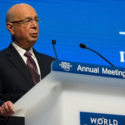 The Great Reset's Klaus Schwab leading to a fusion of physical, digital and biological identity