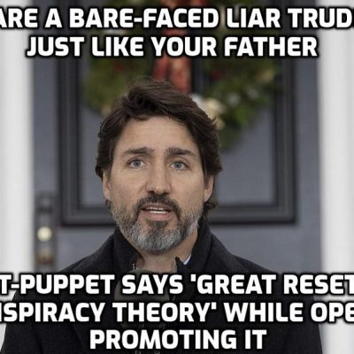 Canada's Trudeau calls Great Reset a CONSPIRACY THEORY after video of him promoting the globalist initiative went viral