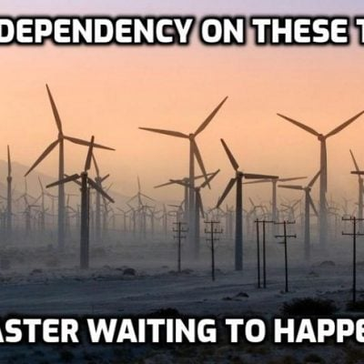 British coal plants fired up to meet 'temporary' electricity shortfall through lunatic dependency on wind