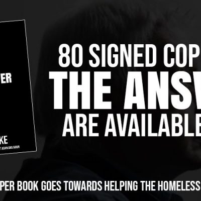 Signed Copies Of 'The Answer' In Support Of The Homeless This Christmas