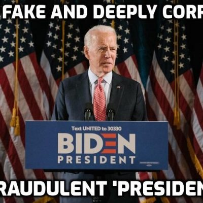 Stealing the election was a victory for democracy, says deeply corrupt Biden, and being owned by Cult billionaires makes me a man of the people. Plus new explosive revelations about Biden China corruption