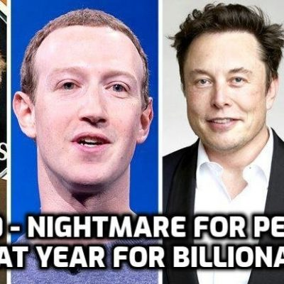 Who benefits from the 'Covid' hoax? Billionaires (Exactly as planned)