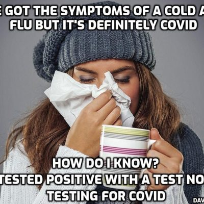 Epidemiologist Says Influenza Cases Are Being Counted as 'COVID-19' (of course they are - it's all a scam)