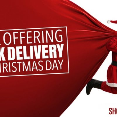 Free UK Shipping Until Christmas Day