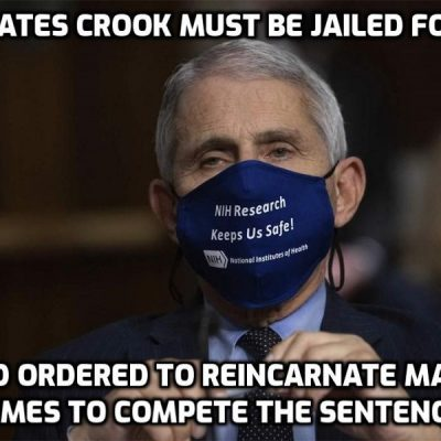 Gates-Owned Crook Fauci: Vaccines Might Be Mandatory For Travel And School - that's always been the plan and this criminal knows it