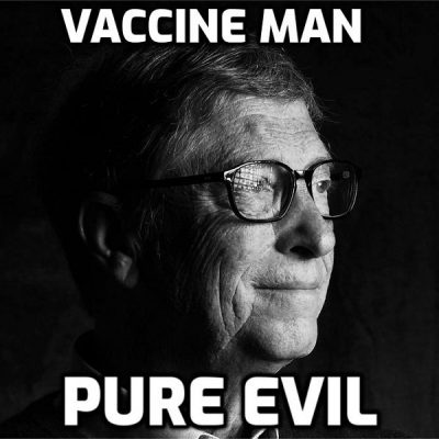 Psychopath software salesman Bill Gates: THIRD Shot May Be Needed to Combat 'Variants' of a 'virus' they have never shown to exist and is actually a computer-generated fiction. How can there be 'variants' of that? Tap, tap, press enter