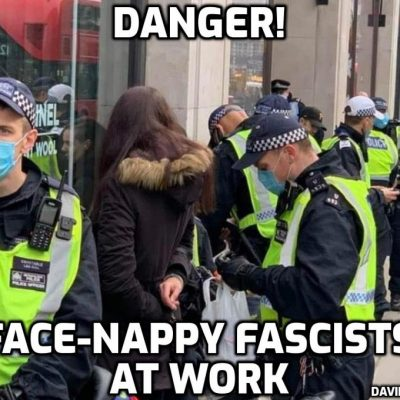 A story the mainstream media won't touch – proper journalist Jacqui Deevoy: Why were the police targeting women and the elderly at Saturday's London protest? [Because we are dealing with the Jackboot Johnson SS]