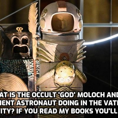 Why is Darth Vader in the Vatican's Nativity scene? It's actually the Global Cult 'God' Moloch