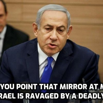 It's a global script: Netanyahu Says Israel in State of Emergency Due to 'Virus'
