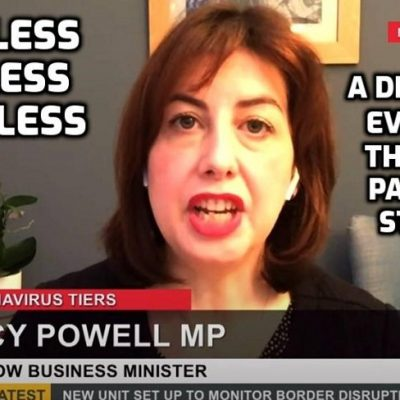 'It's an act of moral cowardice!' - Labour MP dismantled for not opposing government 'Covid' measures and the spineless MP ends the interview when she's cornered