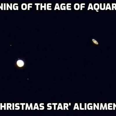 In Photos: 'Christmas Star' Dazzles As Jupiter And Saturn Align In Best Display Since The 13th Century