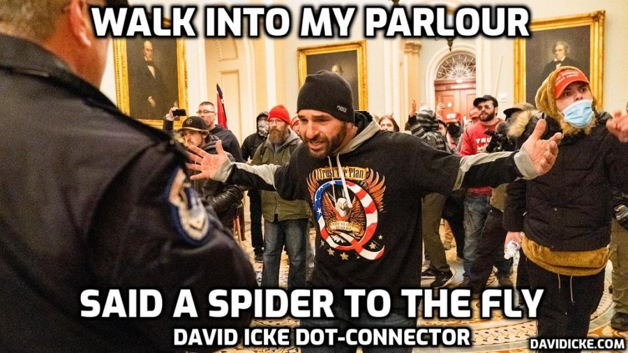 Walk Into My Parlour Said A Spider To The Fly - David Icke Dot-Connector Videocast