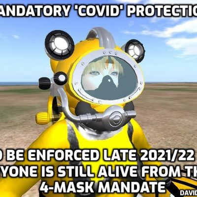 They are trying to kill you - official: CDC Announces All Travellers Must Wear TWO Masks or Face Arrest