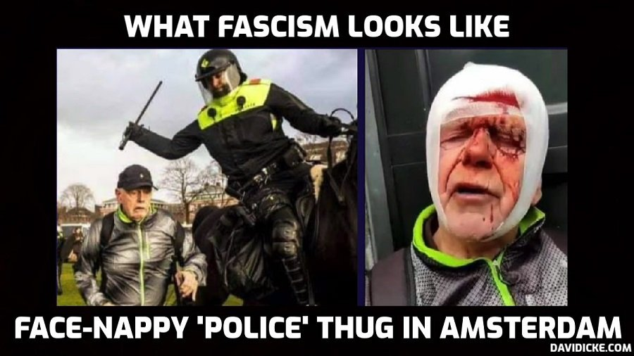 Clashes & mass arrests as riot police struggle to contain anti-lockdown rage in the Netherlands – David Icke