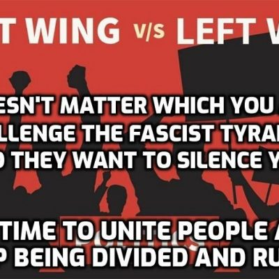 I said they would be coming for you - 'Left wing' or 'Right wing' if you challenge the Cult agenda in any way they're after you: Facebook shuts down major left-wing group in Britain and many others - as always the 'revolution' eventually swallows its own 'children' when they have served their purpose
