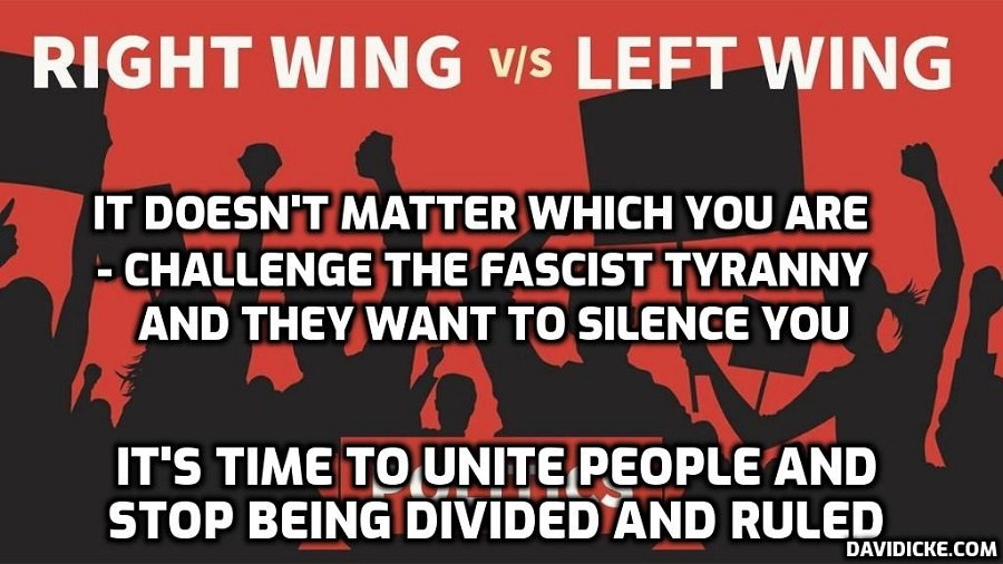 Facebook shuts down major left-wing group in Britain and many others – as always the 'revolution' eventually swallows its own 'children' when they have served their purpose – David Icke