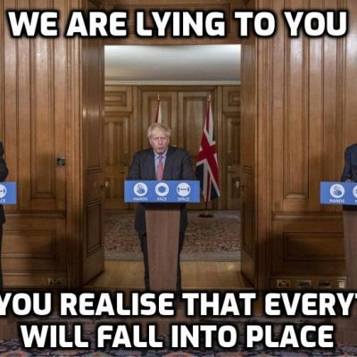 'If lying was a cause of death government buildings would be permanently empty' - David Icke
