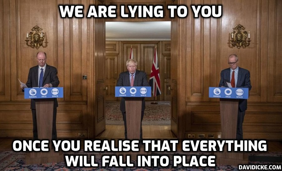 'If lying was a cause of death government buildings would be permanently empty' – David Icke