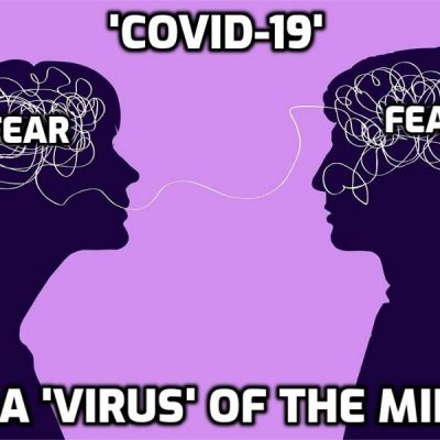 The age of mass hysteria - amazing numbers of 'vaccinated' people too frightened to do normal things in fear of getting 'Covid'. So why did the idiots get 'vaccinated'??
