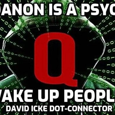 QAnon is a Psyop - Wake Up People! - David Icke Dot-Connector Videocast - Please Share